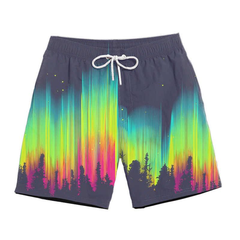 Drop shipping 2019 lato w nowym stylu mody psychodeliczny spodenki wyciek ropy naftowej 3D drukuj mężczyźni/kobiety na co dzień szorty szybkie pranie krótkie spodnie