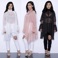 2016 summer women lace dress ruffled longsleeve loose style female women clothing chiffon elegant casual women dresses XD540