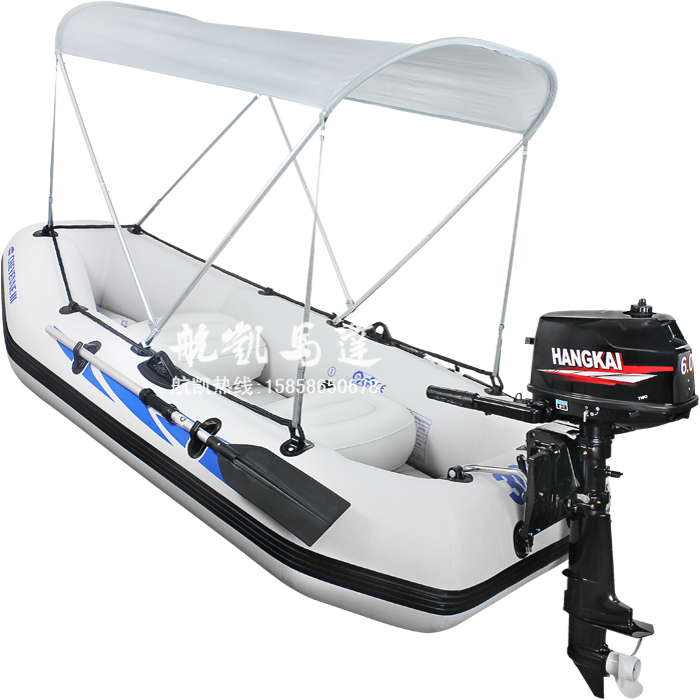 6.0 outboard four person fishing boat rubber boat inflatable boat assault boats with motor motul outboard tech