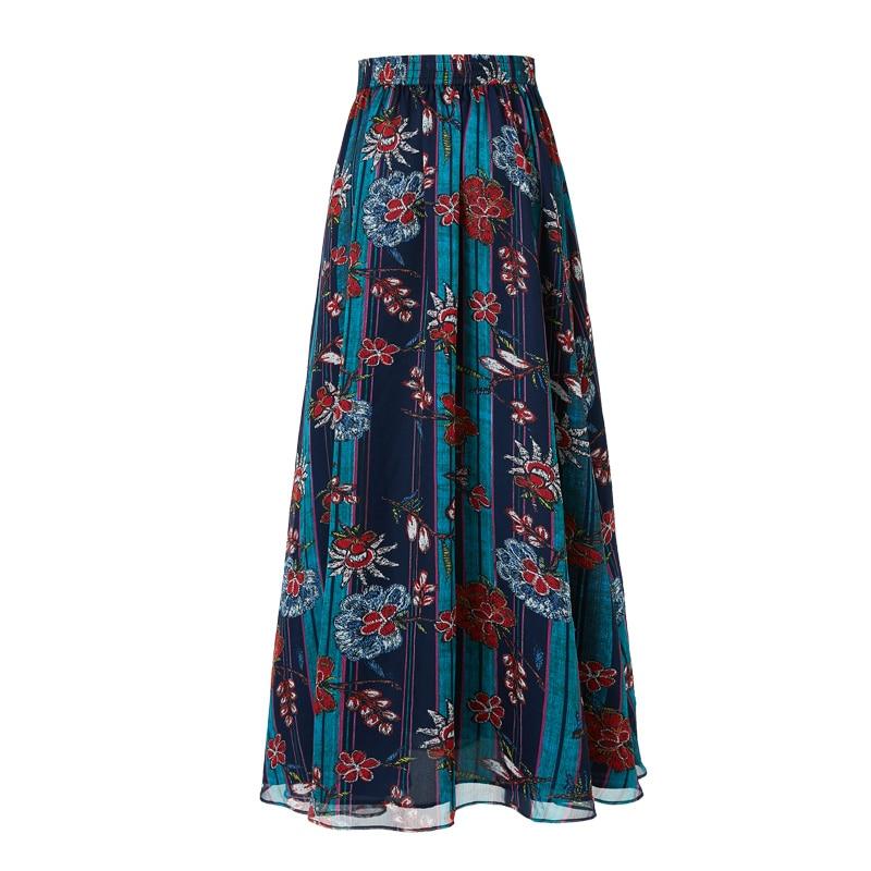 Vestido Verano Mujeres Dividir Alta Primavera Estilo Calidad Artka Falda Qa10098x 2019 Impresión De Larga Ropa Bohemia Floral Faldas gqPxwFEt7n