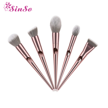 Sinso unicorn professional eye makeup brushes foundation eyebrow eyeliner powder eyelash contour brush makeup cosmetic tool kits 12 24pcs makeup brushes cosmetic tool kits professional eyeshadow powder eyeliner contour brush with case bag pincel maquiage