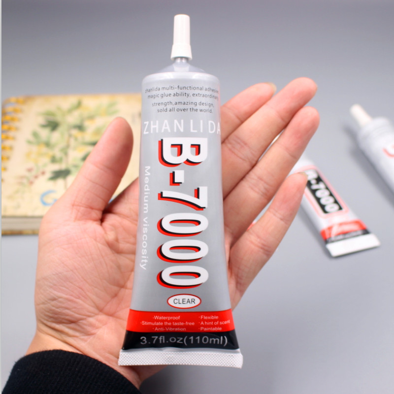 110ml B-7000 Multi Purpose B7000 Nails Adhesive Rhinestone Crystal Jewelry Craft diy Tool Touch Screen Phone Repair Glass Glue zhanlida b7000 110ml 1pc silimar e6000 super glue multi purpose sealant for jewelry crystals rhinestones diy b 7000 glue
