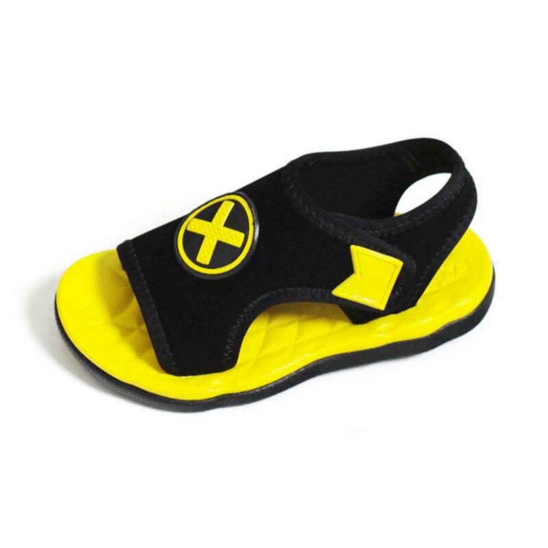 Kids Sandals 2017 New Summer Boys Girls Sandals Candy Color Beach Shoes Top Quality Soft Sole Open Toe Chidren Sandal Size 26-37