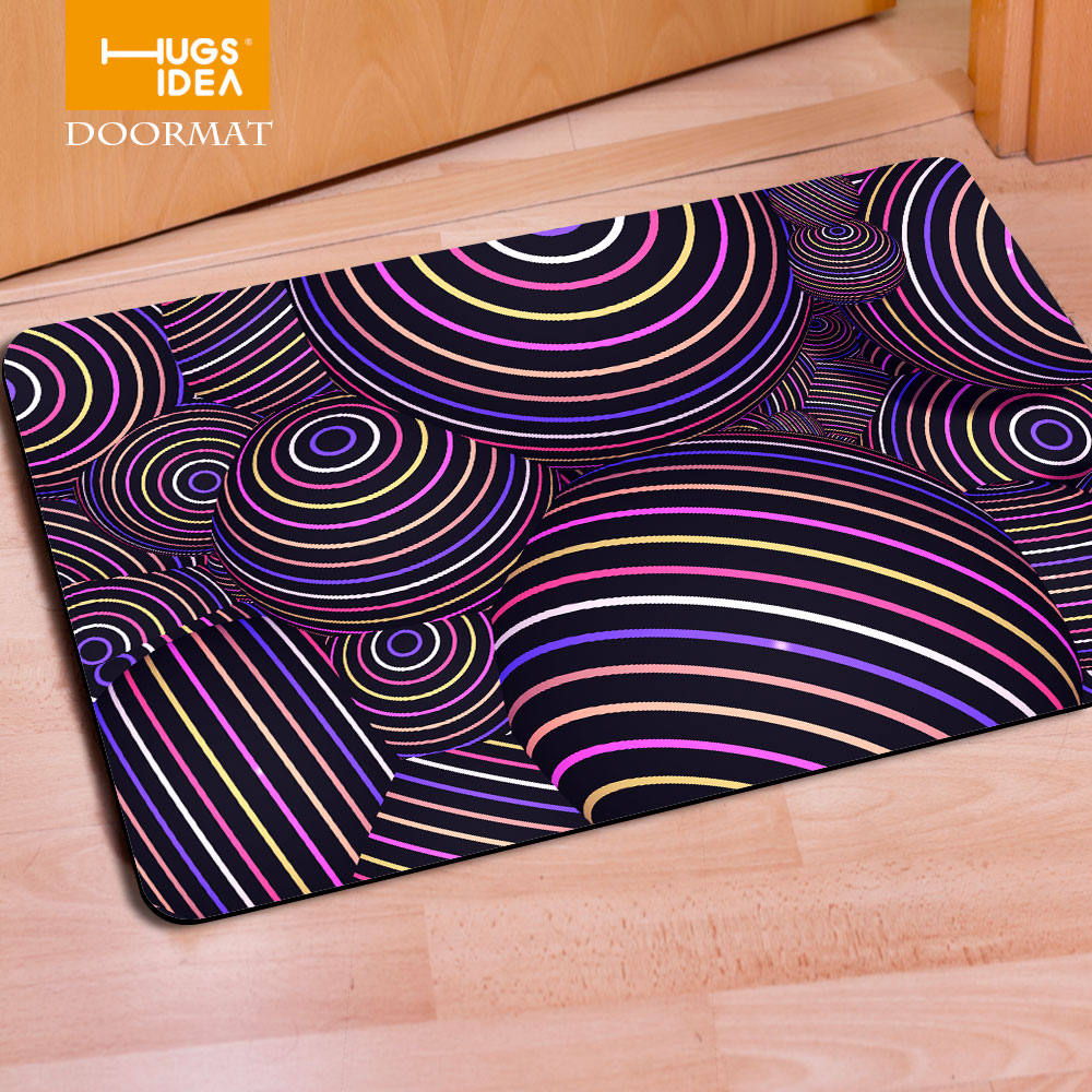 400x600mm Welcome Outdoor Entrance Doormat Funny Floor Carpet 3D Bohemia  Rubber Door Mats Tapis Non Slip Kitchen Bath Mat in from Home Garden
