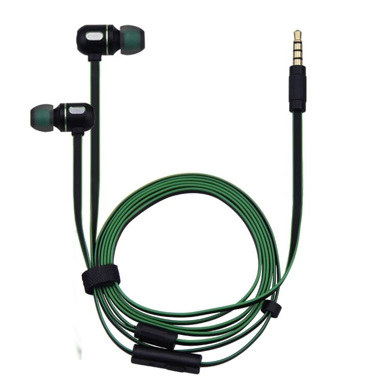 HIFI fém sztereó fülhallgató fülbe erős, nagy mélységű - Hordozható audió és videó