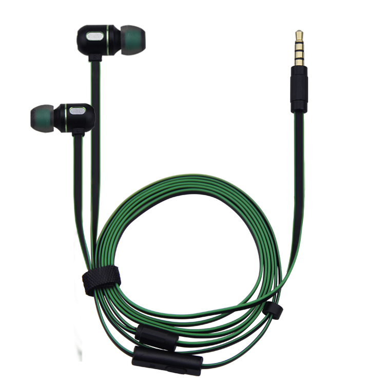 HIFI Metal Stereo Earphones In-Ear Heavy Bass Sound Quality Music Headphones with HD MIC For iphone6 6s Xiaomi samsung
