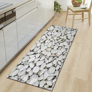 Image 4 - Zeegle Kitchen Floor Mat Non slip Carpets Table Floor Mats Absorbent Kitchen Rugs Soft Rug 3D Printed