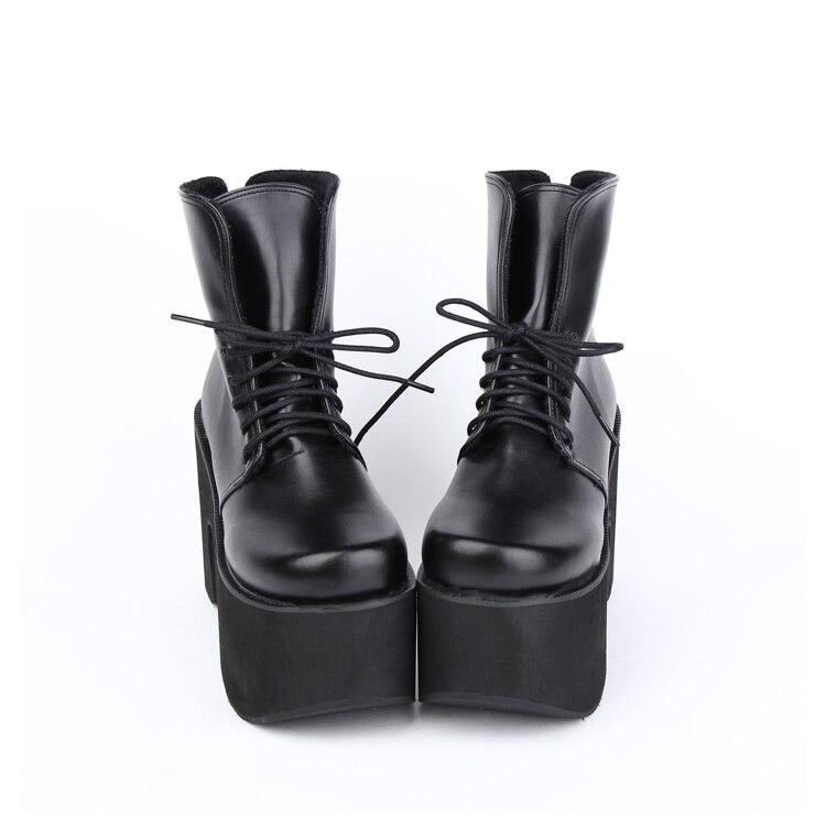 10 Talon Noir Mentions Punk Angéliques Légales Dentelle Partie Fille Lolita Chaussures 47 33 Pompes Bagatelle Talons Cm Épais Haute Mori Femme Lady Up UgAqzgBw