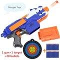 Nueva nerf pistola de bala suave pistola de juguete rifle de francotirador topspeed eléctrica metralleta de juguete pistola de bala suave pistola de juguete para niños regalo