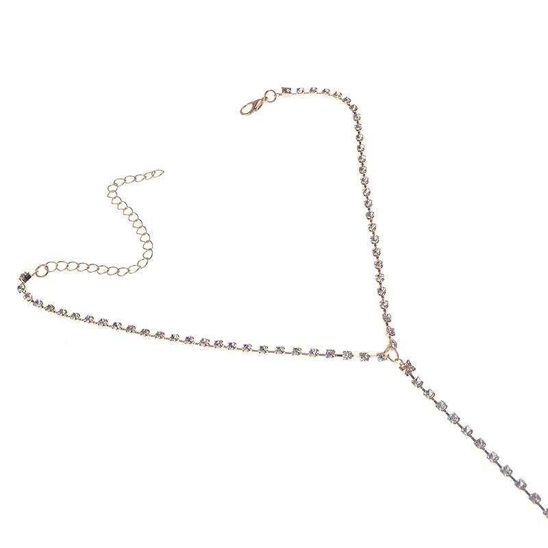 HTB16IKzQFXXXXcoXVXXq6xXFXXX4 Sexy Women's Rhinestone Studded Choker Necklace