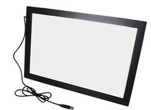55″ real 4 Points touchscreen usb multi touch screen overlay kitl for advertising kiosk, touch table,smart TV,lcd & monitor