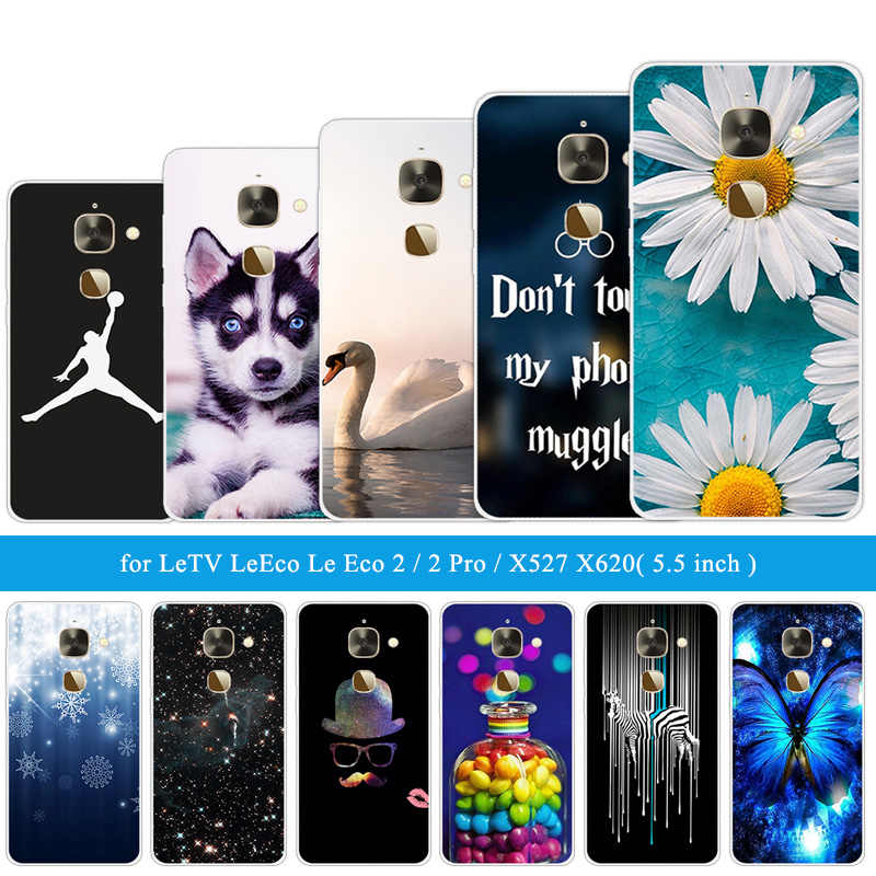for Letv Le 2/2Pro X20 X25 Pro X620/X620 X520 X526 X 527 Silicone for LeEco Le S3 X626 X622 Le2 Pro X20 Funny Cat Phone Cases