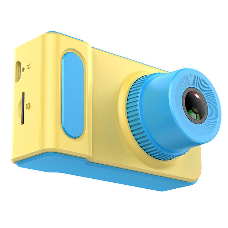 JEREFISH Mini Digital Camera 2 Inch Cartoon Cute Camera Toys Children Birthday Gift Toddler Toys camera
