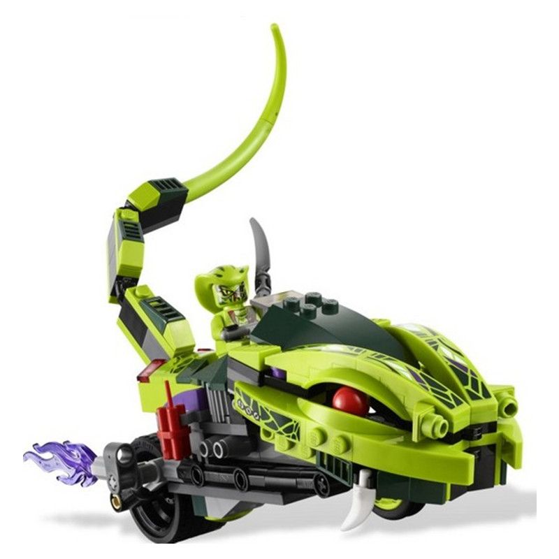 NEW BELA 9774 249Pcs Phantom  Building Blocks  Snake Toys For Children  Toys Motorcycle Brick Boys Holiday Gifts