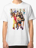 Cool Summer Tees Crew Neck Short Sleeve Office SPICE GIRLS Men S White Tees Shirt Clothing