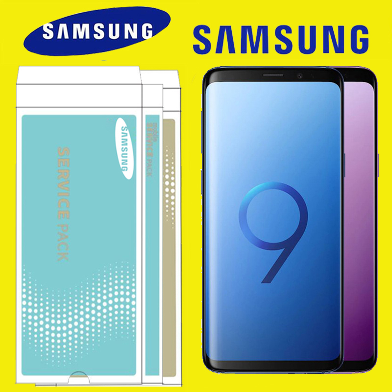 ORIGINAL 2960 1440 Display with Burn Shadow LCD with frame for SAMSUNG Galaxy S9 S9 Plus