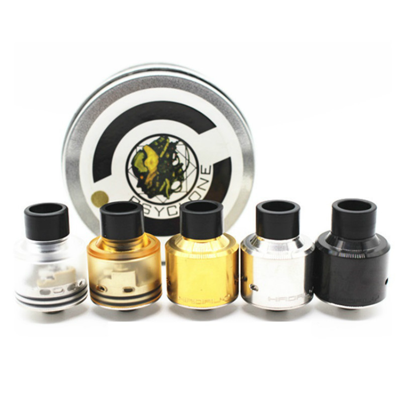 Sub Two Hadaly RDA metal electronic cigarette atomizers tank With DIY property colorful choice and reasonable quality vape