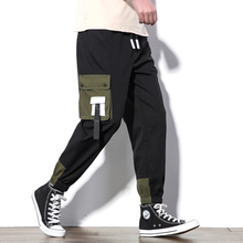 M-5XL 2019 Spring Track Pants Men Sweatpants Mens Joggers Pants Cargo Camo Tactical Harem Green Pants Men
