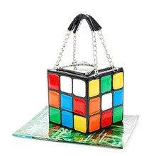 New Design Girl Laies Fashion Cute Magic Color Fancy Cube Ba