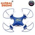 Gw009c global drone 4ch mini drone com câmera quadcopter dron RC Quad copter Com Câmera HD Quadrocopter Mini Drone VS CX-10
