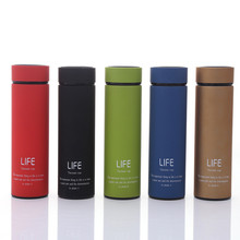 New 500ml 5 colors BPA FREE coffee Life Thermos Cup double layer Insulated Stainless Steel Vacuum Flask Travel Auto TEA Mug