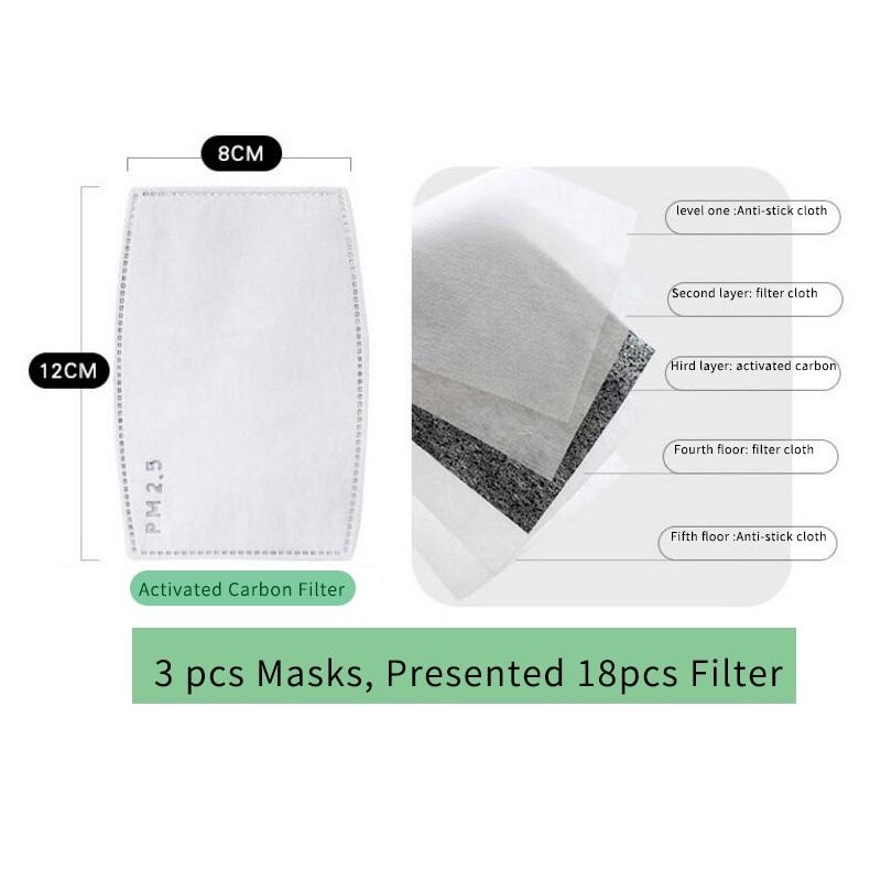 Moledodo 3 ADET / GRUP Yeni Pamuk Yetişkin ağız maskesi PM2.5 toz - Sağlık Hizmeti - Fotoğraf 5