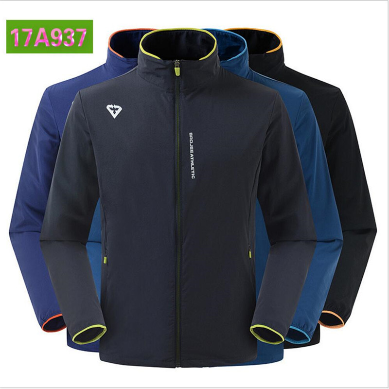 Free Shipping-New Baojee Men Summer Water/Windproof Breathable Anti UV Dry-Quickly Ultralight Skin Dust Coat 17A937 2017 new daiwa fishing clothes long sleeve breathable sunscreen anti mosquito ultrathin summer dawa daiwas free shipping