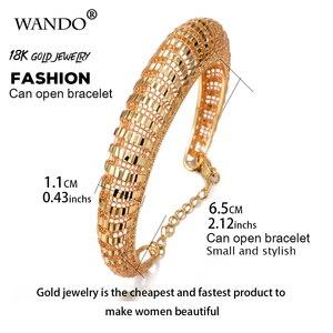 Браслет Wando Женский, модный, золотой, с цепочкой