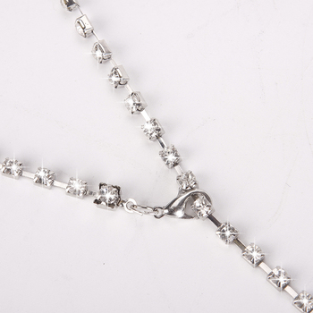 Shiny Rhinestone Front or Back Body Chain5