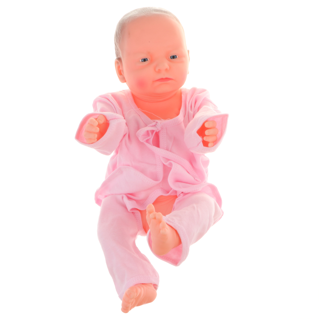 Vinyl Baby Boy Doll Anatomically Correct Joint Ball Body Model Toy