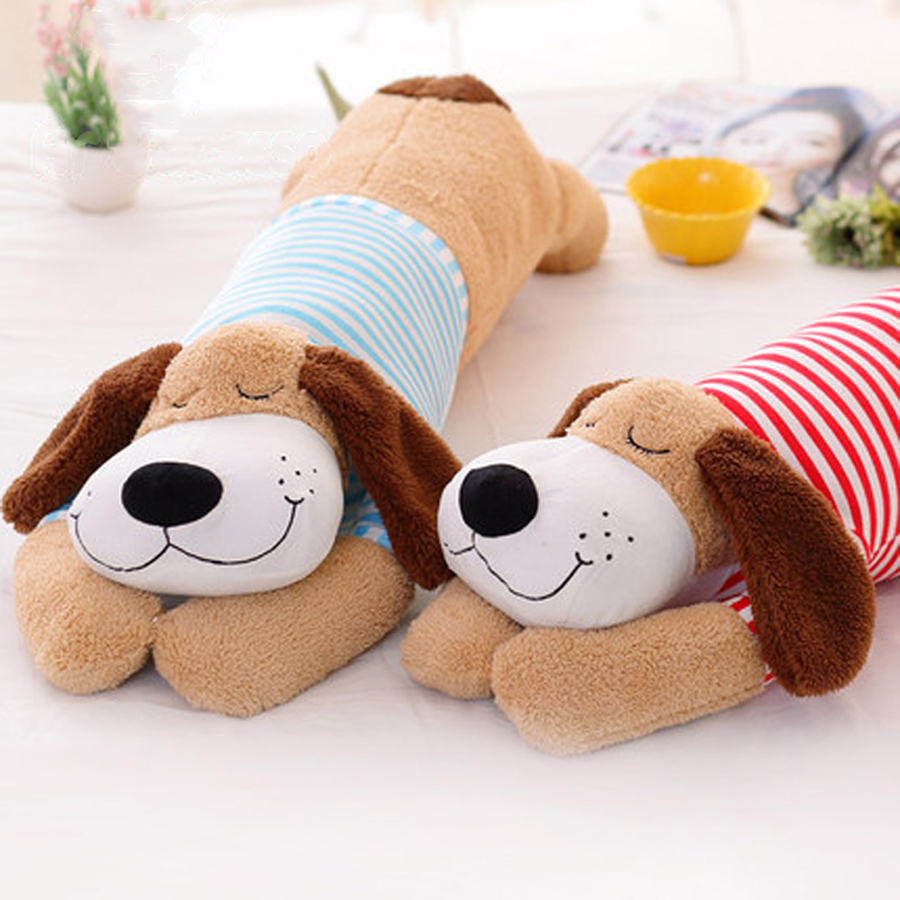 Cartoon Dog Soft Toy Animals Stuffed Plush Cute Pillow Puppy Doll Peluches Grandes Birthday Gift Cojines Toys For Kids 50G0424 1pcs 18cm cute flower monkey plush toy stuffed animals