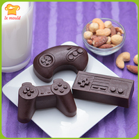 Classic Game Controller Soap Chocolate Ice Lattice Mold