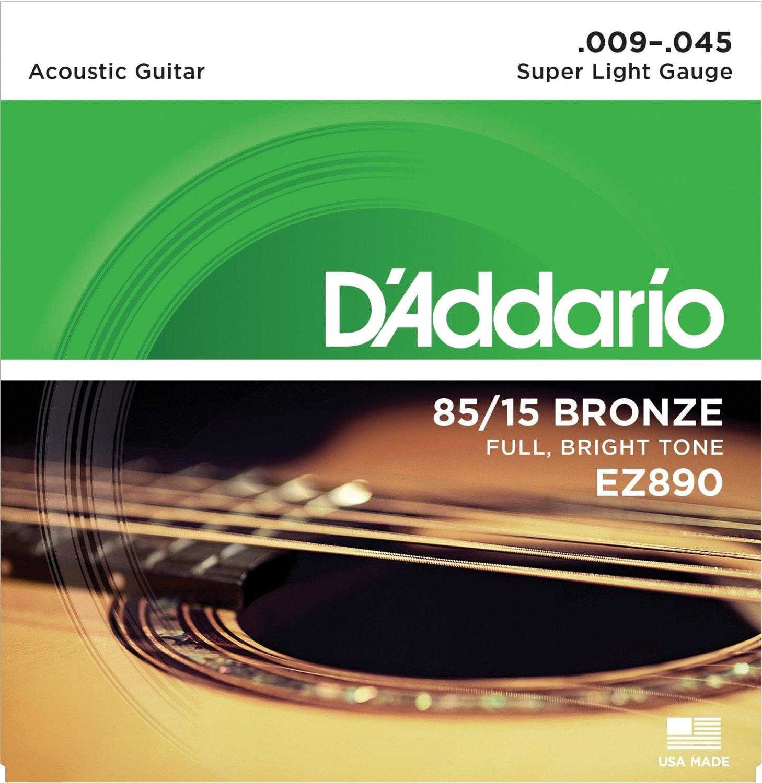 D'Addario Great American Bronze 85/15 akoestische gitaarsnaren, Made - Muziekinstrumenten - Foto 3