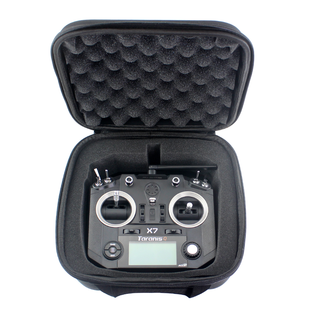 Frsky Taranis  X7 QX7 2.4G 16Ch ACCST Transmitter Remote Control Universal Transmitter Bag Left Hand Throttle For RC FPV Drone