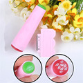 1 Pc Dual Double Sided Stamping Nail Art Stamper With Plastic Scraper Manicure Nail Art Stamping Tool