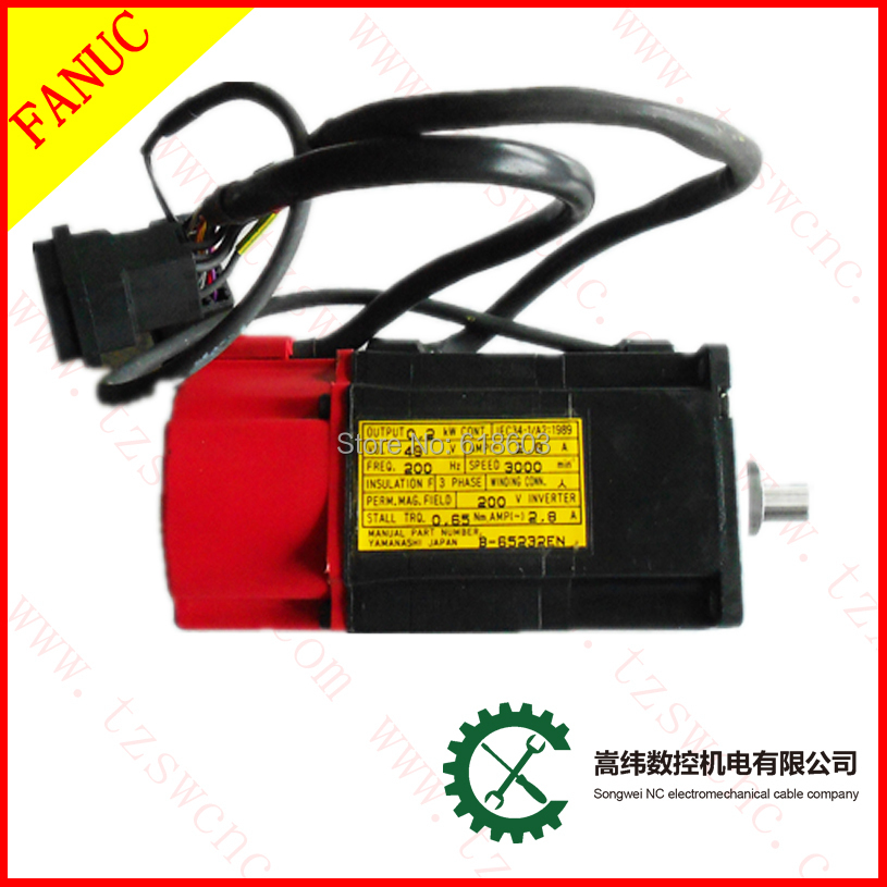 A06B-0113-B175  FANUC AC servo motor CNC Beta Fanuc repair
