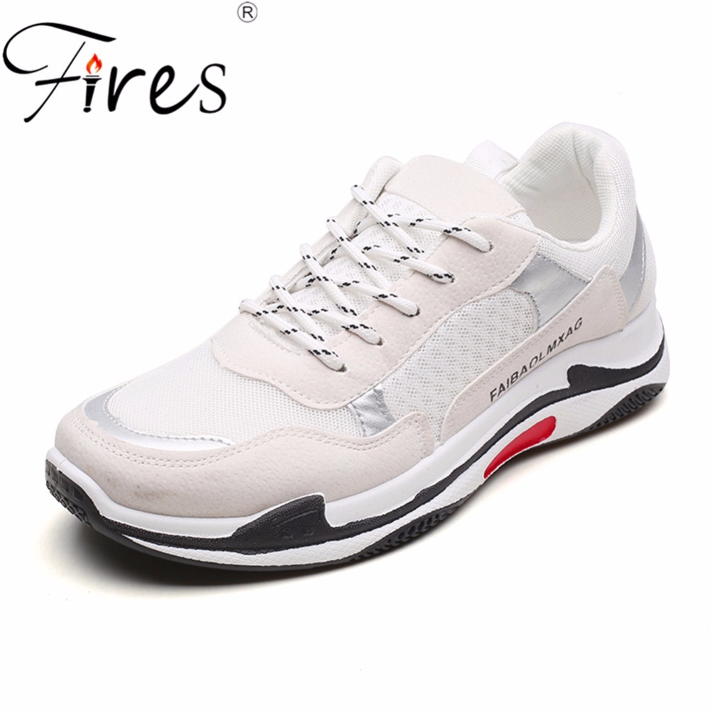 Fires Mens Sneakers Mens Running Shoes Brand Comfortable Sport Shoes Breathable Mesh Jogging Spring Outdoor Walking Shoes