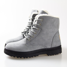 Fashion Snow Winter Boots Women snow Boots 2016 Women Ankle Boots heels Winter Shoes