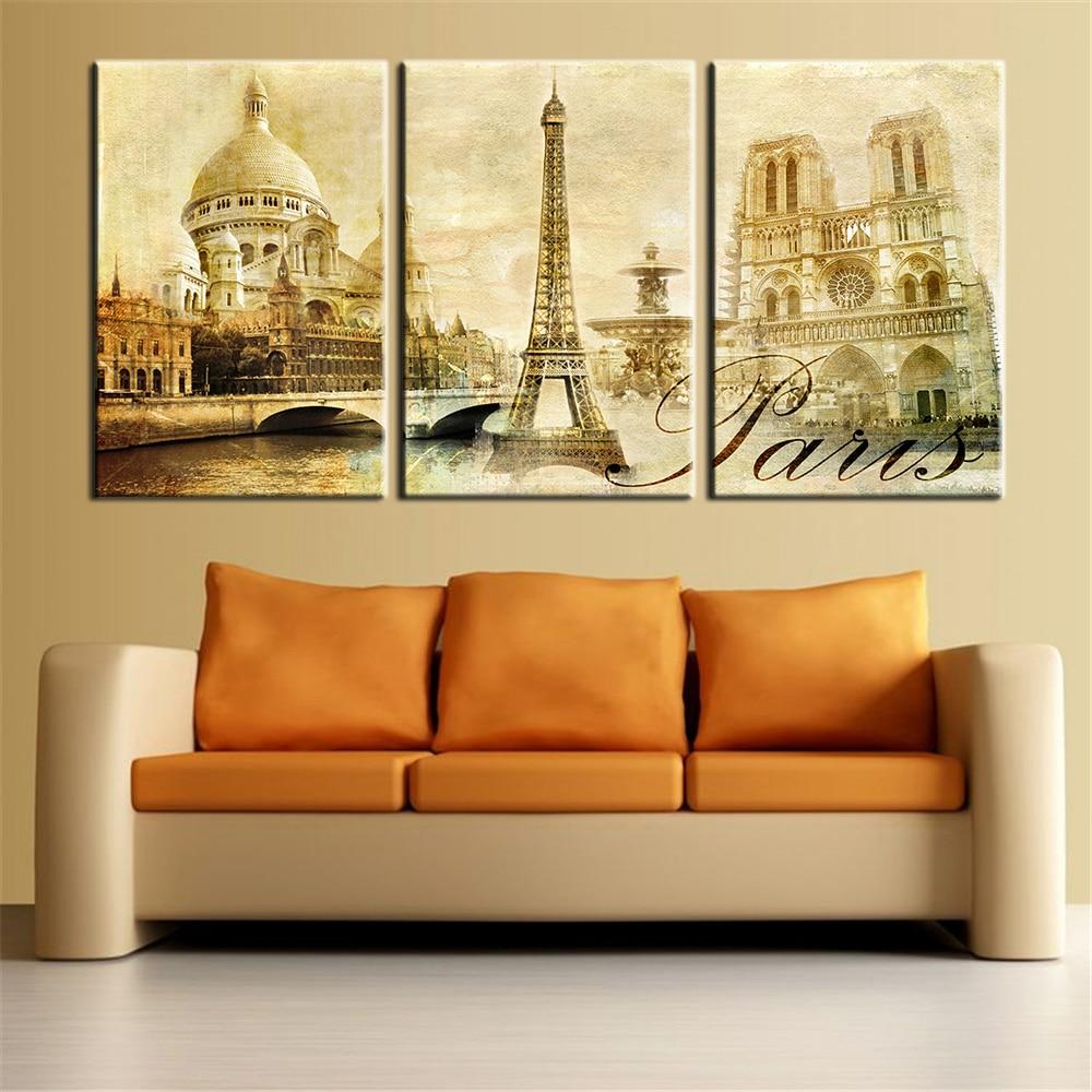 Online Paris Wall Art China