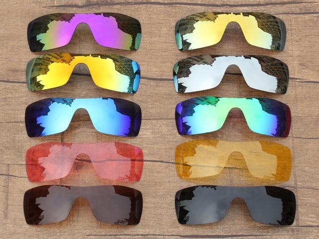 PapaViva POLARIZADA Lentes de Reposição para óculos Autênticos óculos de Sol  Batwolf 100% UVA   cb4141d44d