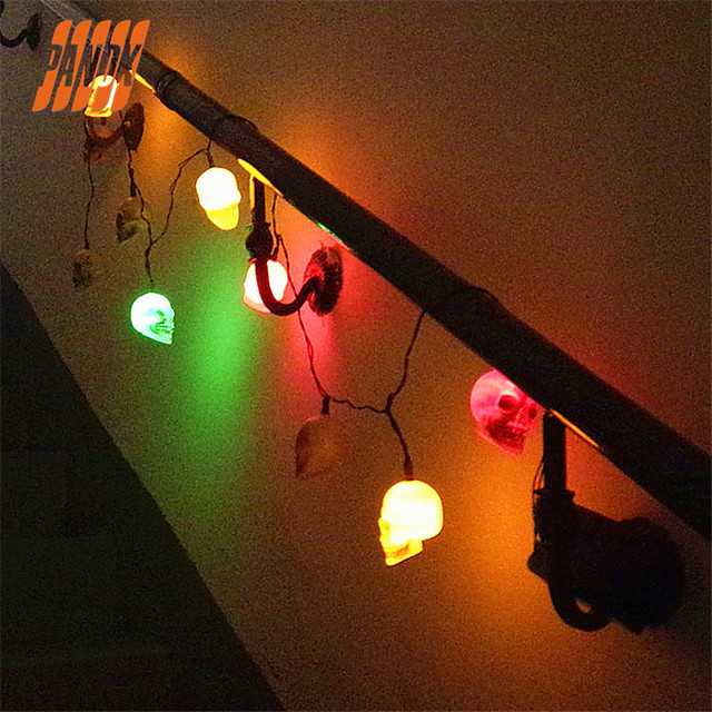haunted house lighting. Halloween LED Skulls Lights With Two Types Sound Haunted House Chamber Free  Shipping Haunted House Lighting