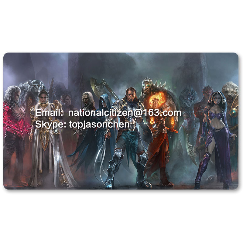 Many Playmat Choices - Planeswalkers - MTG Board Game Mat Table Mat for Magical Mouse Mat the Gathering image