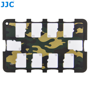 Image 3 - JJC Memory Card Case Holders Handle Storage Box Memory Card Wallet Credit Card Size for SD SDHC SDXC Micro SD MSD TF Cards