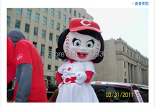 mascot baseball female mascot costume custom fancy costume anime cosplay kits mascotte theme fancy dress carnival costume