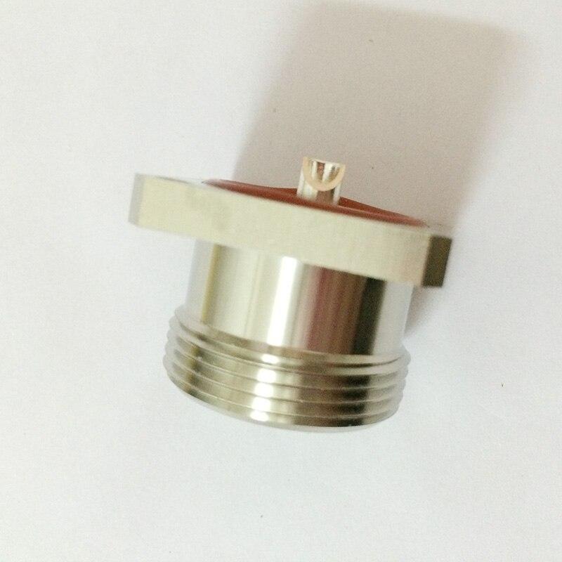 ALLISHOP L29 7/16 DIN Female Jack Center 4 Hole Flange Solder RF Coax Connector Adapter