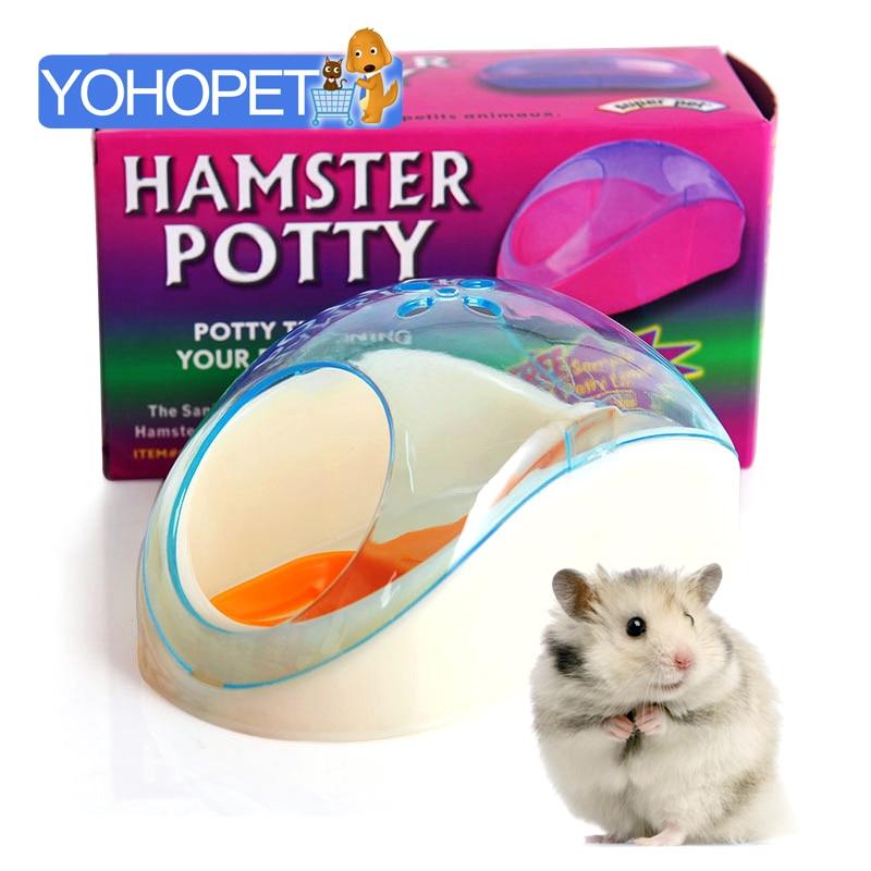 new arrival small pet Plastic Hamster Bathroom Bath house small pet Bath tub Brush For Hamster pet Removable Bathtub