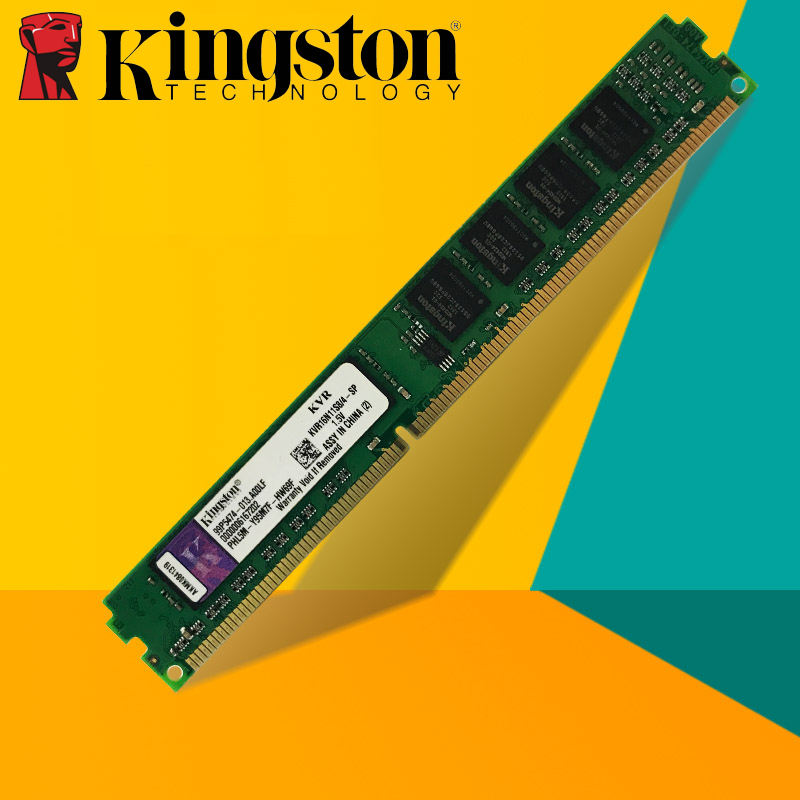 все цены на Kingston Desktop PC Memory RAM Memoria Module DDR2 800 667 MHz PC2 6400 16GB 8GB 4GB 2GB 1GB  DDR3 1600 1333 MHz PC3-10600 12800 онлайн