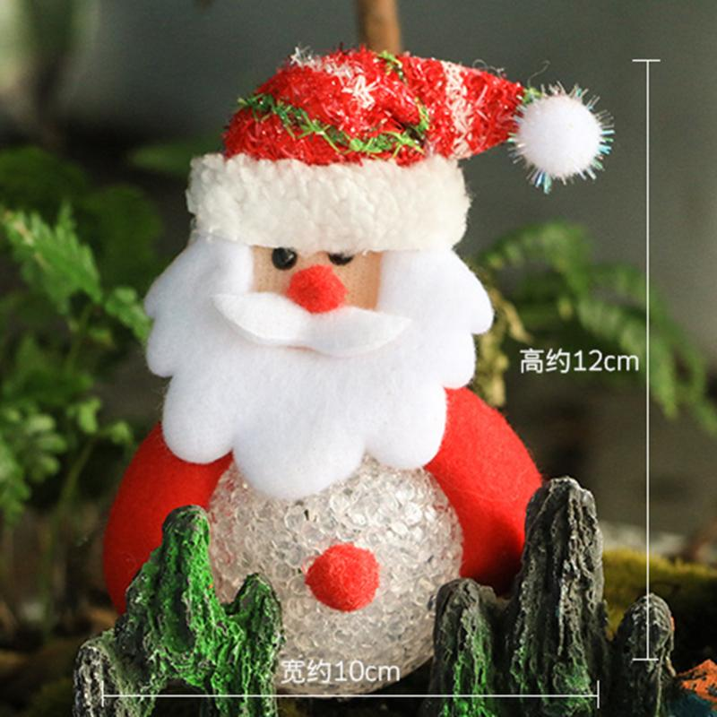 online shop christmas pendant gift party supplies luminous doll santa claus elk snowman bear christmas ornaments xmas tree decor aliexpress mobile - Bear Christmas Tree