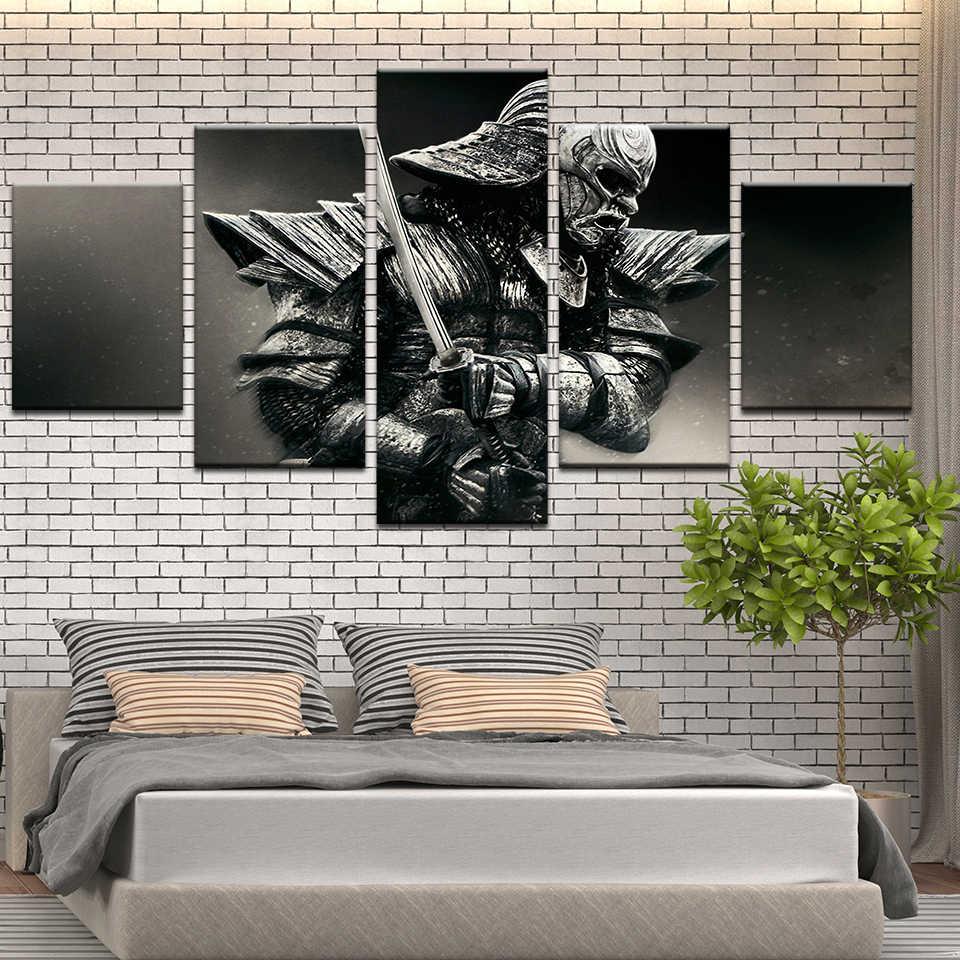 The 47 Ronin Samurai Japan Warrior HD Printed Poster Movie Art Wall Oil  Picture Frame Painting on Canvas For Living Room