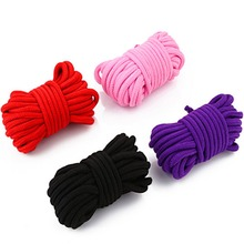 10M Length Fetish Alternative slave bondage rope Restraint Cotton Tied Rope sex products for couples adult game BDSM Handcuffs